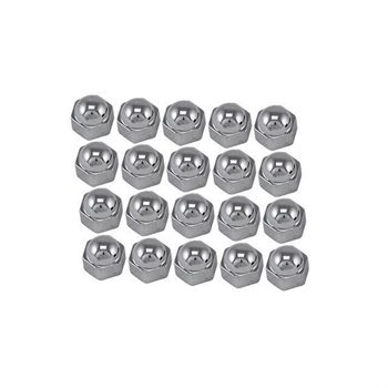 BOLT CAPS CHROME (20PC) - 19 MM