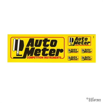 STICKER KIT 'AUTO METER' MINI