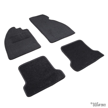 CARPETKIT 4PCS TYPE 1 / BLACK