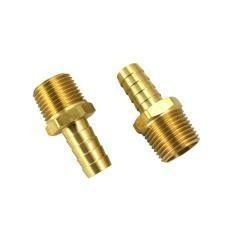 1/2 BRASS BARBED FITTING FOR EXTERN