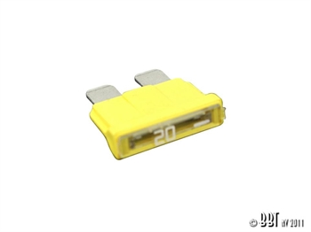 BLADE FUSE 20A (YELLOW)