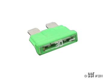 BLADE FUSE 30A (LIGHT GREEN)