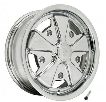 911 ALLOY WHEEL FULLY CHROMED 5x205, 5.5x15 ET20 (1)
