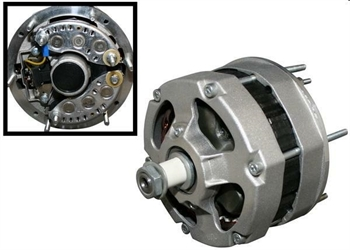 ALTERNATOR, 75A, RECONDITIONED, PORSCHE 911 74-81