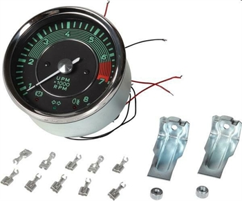 .MANOMETRO CONTAGIRI 8000RPM STILE 356