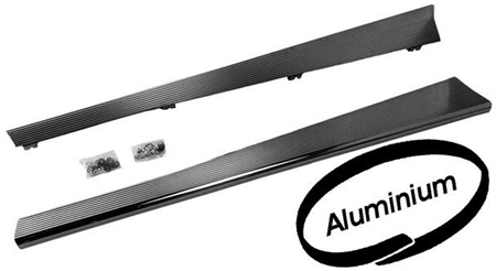 RUNNING BOARDS, ALUMINIUM Made of 3 mm strong aluminium with len