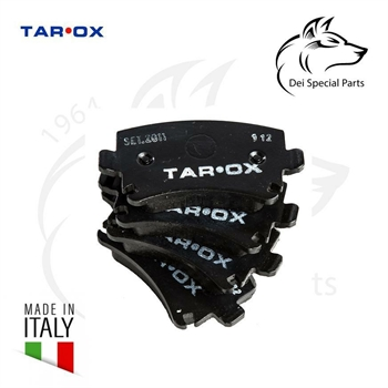 BRAKE PADS TAROX, STREET USE