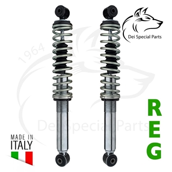 SHOCK ABSORBERS,(OIL) OFF ROAD - FRONT UP TO '64-REAR ALL