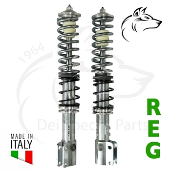 SHOCK ABSORBERS, FRONT, ADJUSTABLE IN HIGHNESS AND HARDNESS
