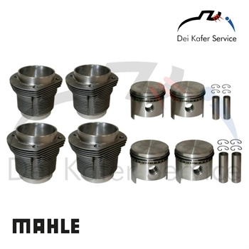 DIE CAST PISTON KIT 85,5 MM - MAHLE