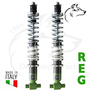 SHOCK ABSORBERS (OIL) FRONT WITH SPRING T25 (2)
