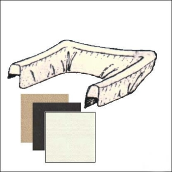 BOOT COVER TYPE1 73-77 WHITE VINYL