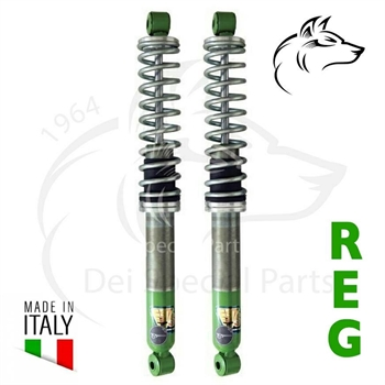 SHOCK ABSORBERS ADJUSTABLE T2,(OIL), REAR 08/71-07/79 (2)